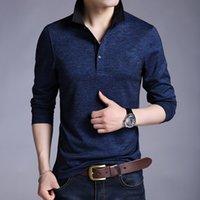 Nouveau design 2020 Hommes Marque Chemise à manches longues Mode Printemps Vêtements Automne Taille Plus d'Asie M-3XL 4XL 5XL
