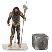 16 cm Neu 2019 Aquaman Justice League PVC Action-Figur Sammler Modell Spielzeug-Geschenke für Kinder