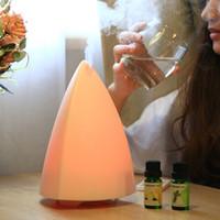 New 130ml estilo simples umidificador de ar ultra essencial de Aromatherapy Difusor óleo doméstico escritório Bedrom luz colorida Aroma Difusor