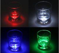 LED Cup Mat Led Lichter Blinkende Flasche 3 Mt Aufkleber Cup Mug Coaster Cup mat Für Urlaub Party Bar Home Party verwenden