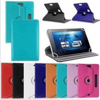 7/8/9/10 polegada caixa de comprimido padrão de cristal universal mid almofada capa protetora de couro para iPad laptop