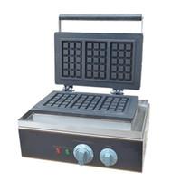 BEIJAMEI Fabrika Elektrikli Kare Belçika Waffle makinesi Demir Makinesi Ticari yapışmaz 110 V 220 V Dikdörtgen Waffle makinesi