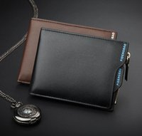 2019 brand Cow Leather Men Wallets with Coin Pocket Vintage ...