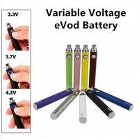 EVOD VV Vape Pen ego bateria variável Tensão da bateria 650mAh 900mAh 1100mAh Evod Torça baterias eGo Ecig para MT3 CE4 CE5 Atomizador vaporizador