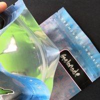 ميترو بلومين مايلر أكياس مضادة للرسل 420 التعبئة والتغليف حقيبة كوكيس متصلة الوقوف الحقيبة الجافة الأعشاب الزهور