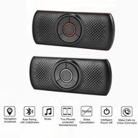 Handsfree Bluetooth Car Kit Wireless Auto Speakerphone Multi...