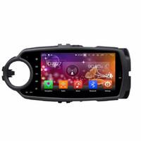 "IPS Ekran 2 din 8 ""Android 8.0 Araba Radyo GPS Navigasyon Başkanı Ünitesi Araba DVD için Toyota yaris 2012 2013 4 GB RAM 32 GB / 64 GB RON"