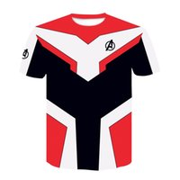 Avengers 4 Endgame T Shirt 3d Stampa 100% Poliestere T-Shirt Shortsleeve Quantum Realm Cosplay Abbigliamento Fine Gioco Ypf266