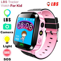100pcs Q528 Smart Watch For Kids Watch With Remote Camera Anti-lost Children Smartwatch LBS Tracker Wrist Watches SOS Call For Android
