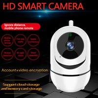 WiFi Bebek Monitör Kamera ile 1080 P HD Video Bebek Uyku Nanny Cam İki Yönlü Ses Gece Görüş Ev Güvenlik Babyphone Kamera