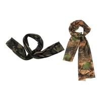 2pcs Camouflage Scarf Headscarf Kerchief Scarf - Forest Camo...