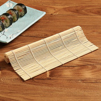 Nuevo 1 unids Sushi Tool Bamboo Rolling Mat DIY Onigiri Rice Roller Chicken Roll Hand Maker Kitchen Japanese Sushi Maker Tools