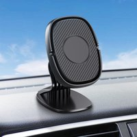 Air Vent Mount Car Phone Holder Stand Magnetic Plastic GPS Mobile Phone Universal Stand for iphone Samsung Huawei Xiaomi