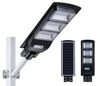 Luz luz solar da rua LED fora 20W 40W 60W com sensor de movimento IP65 impermeável Lâmpada LED SMD2835 LED Chip para Street Garden Park