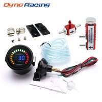 "Dynoracing 2"" 52мм Автомобильный цифровой 20 LED Turbo Boost Gauge -1 ~ 3bar + Регулируемое Turbo Boost Controller Kit 1-30 PSI IN-САЛОНА"