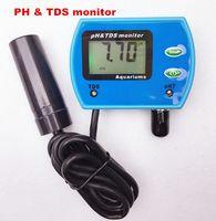 Freeshipping Portable Pen Digital Water PH Meter Filtro Misurazione dell'acqua Qualità Purezza Tester Hydroponics EC Conductivity Meter