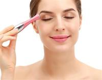 Skönhet mini ögon massage enhet penna typ elektrisk ögonmassager ansikts vibration tunt ansikte magisk pinne anti väska påse rynka