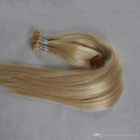300Grams Düz İpucu saç Uzantıları% 100 Remy İnsan Keratin Saç Uzantıları