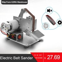 KKMOON متعدد الوظائف البسيطة حزام ساندر الكهربائية مطحنة المهنية DIY تلميع آلة طحن كتر حواف مبراة