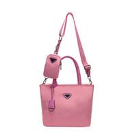 Розовый sugao 2020 Новая мода дизайнер сумки сумка оксфорд 2pcs / комплект женщин тотализатор сумка сумки роскошь сумки бренда сумки