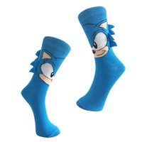 Happy Socks Men Sonic the Hedgehog Joker Neuheit Novedades Karikatur-Socken-Baumwollmann-Socken-605W
