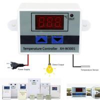 10A 12V 24 V 220VAC Cyfrowy regulator temperatury LED XH-W3001 do chłodzenia inkubatora Switch grzewczy Termostat NTC Czujnik