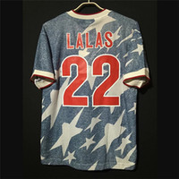 Retro USA 1994 Football Maillots Lalas Reyna Vintage États-Unis de football classique Camiseta Tops Kit Shirt