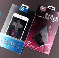 Paquete de venta al por menor de las cajas del borde Bolsa de embalaje para protector de pantalla de vidrio templado para iphone XR XS MAX XS X 8 6S 7 Plus Etiqueta