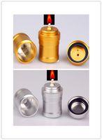 Super Alumínio Lâmpada De Álcool Acessórios Do Cachimbo De Água De Fumar Suprimentos De Laboratório de Edição De Ouro de Aço Inoxidável Mini Lâmpadas De Álcool De Metal Álcool Luz presente