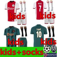 2019 2020 Ajax FC Soccer Jerseys home kids kit 19 20 Customi...
