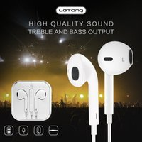 LeTang K4 3. 5mm Jack Earphone for iphone 6s 5 S6 s7 Wire Hea...