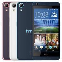 쓰자 원래 HTC 디자 이어 (626) 5.0 인치 옥타 코어 2기가바이트 RAM 16기가바이트 ROM 1300 만 화소 카메라 4G LTE 안드로이드 스마트 모바일 전화 무료 DHL 연습장