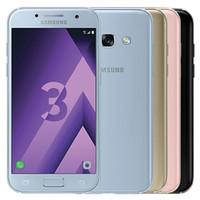 الأصلي تم تجديده Samsung Galaxy A3 2017 A320F 4.7 بوصة Octa الأساسية 2 جيجابايت رام 16 جيجابايت rom 4 جرام lte الروبوت الهاتف المحمول مجانا dhl 5 قطع