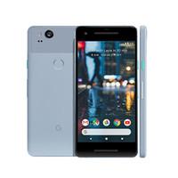 """مقفلة الأصل جوجل بكسل 2 4G LTE الهاتف الخليوي 4GB RAM 64GB 128GB ROM أنف العجل 835 الثماني النواة الروبوت 5.0 """"الهاتف IP67 NFC النقالة الذكية"""