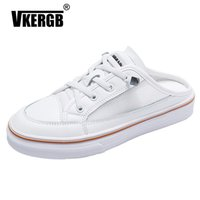 VKERGB 2019 New Women Loafers Handmade PU Leather Flats Casu...