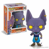 Chanceux Dragonball Z # 120 Beerus Funko Pop Résurrection F Dragon Ball Vinyl Figure Marque