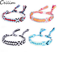 Bohemia Anklets Colorful Summer Beach Multicolor String Cord...