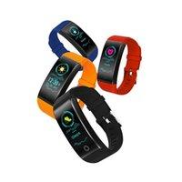 QW18 Smart Armband Blut Sauerstoff Blutdruck Pulsmesser Sportuhr IP67 Fitness Tracker Smart Armbanduhr für iPhone iOS Android