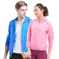 Outdoor Men And Women Couple Skin Clothing Summer UV Breatha...