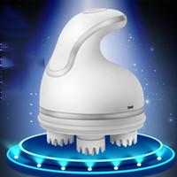 USB em forma de polvo rolo elétrico massageador onda cabeça de água massageador multi-funcional vértebra cervical massageador 11 design KKA6862