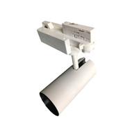 Siyah Beyaz 0-10 V 1-10 V 3 Devre Başkanı Ayarlanabilir LED Dükkanı Parça Lamba Accent Aydınlatma için 15 Işın Açı Parça Fikstürü