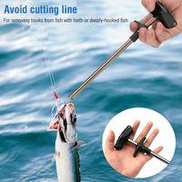 Fácil Fish Hook Ferramenta de Pesca Removedor Minimizando Ferimentos Ferramentas Enfrentar Squeeze NOVO