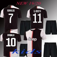 New Top 2019 kids RONALDO Soccer Jersey 2020 JUVE MARCHISIO ...