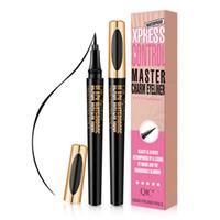Fond de teint liquide Crayon Eyeliner maquillage doublure imperméable noir Crayon pour les yeux longue durée facile à porter Outils Traceur liquide RRA1762