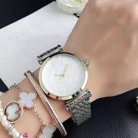Moda popular Casual Top Brand Women Lady Girl Watch Steel Metal Band Relojes de pulsera de cuarzo A19