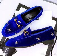 Большой размер! 2020 мужской мода мягкой подошвы бездельников, Оптовая лучшая мужские качества Модельера обувь, повседневная обувь дизайнер слайд