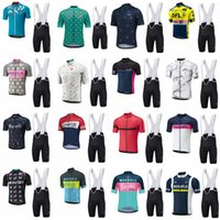 Merida equipe ciclismo mangas curtas jersey (babador) conjuntos de calções de bicicleta de ciclismo Respirável Roupas de bicicleta de montanha ao ar livre B613-21