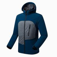 Primavera uomo Capispalla softshell con cappuccio sottile giacche da esterno a vento da esterno rampicante campeggio trekking cappotti 8012