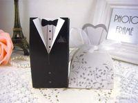 Creative Groom невеста подарок сумка ласточка хвост свадебное платье конфеты коробка многоцветных конфет ящики складные 0 15LW