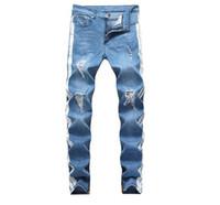 Herren Designer Jeans Mode Straße Stil gewaschener Ripping Löcher Bleistift Hosen Lange Hosen Hommes Pantalones Designer Hosen für Männer